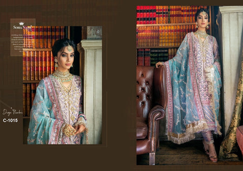Sobia Nazir Pakistani Designer Hit Party Wear Dress