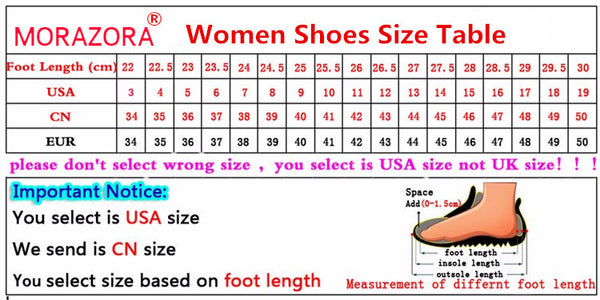 e1802b9761525 MORAZORA Genuine Leather Women Sandals Hot Sale Fashion Summer Sweet Women  Flats Heel Sandals Ladies Shoes Black