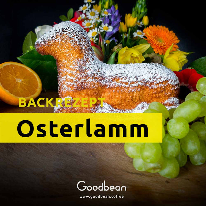 Osterlamm backen