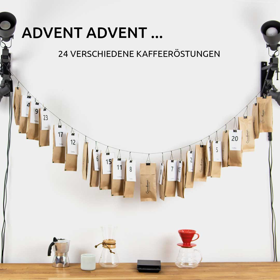 Kaffee Adventskalender | Kaffee, Goodbean, Espresso | Advent
