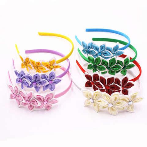 Cute Solid Color Stars Hair Band