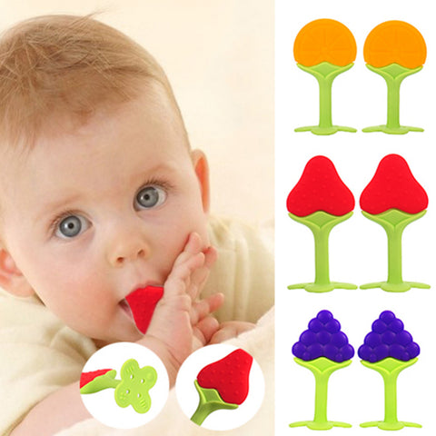 Safety Fruit Shape Baby Teether