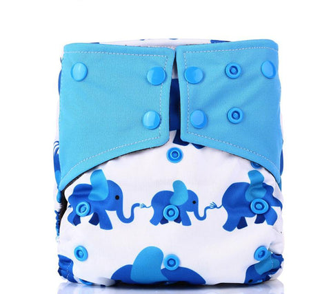 Waterproof Nappy suede cloth Inner Double Gussets