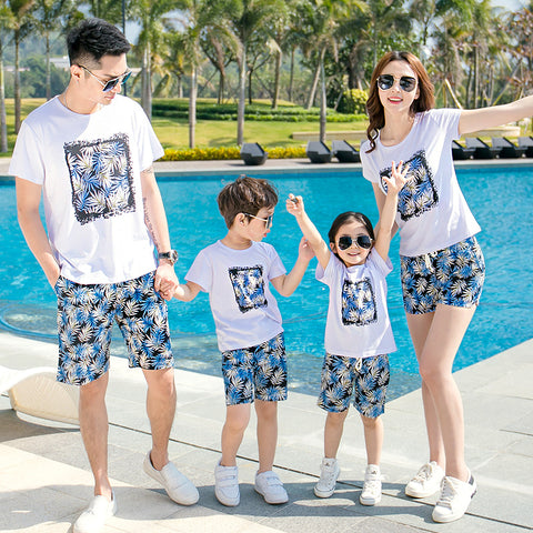 Casual Summer Family Outfits clothing