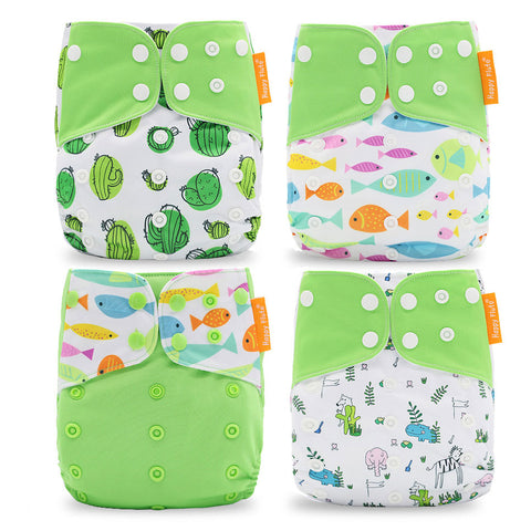 Happy flute Washable &Reusable Nappy Cover