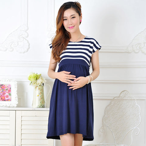 Casual cotton maternity clothes