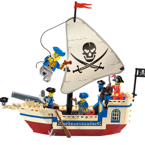 Ship Building Blocks Christmas Gifts for kids