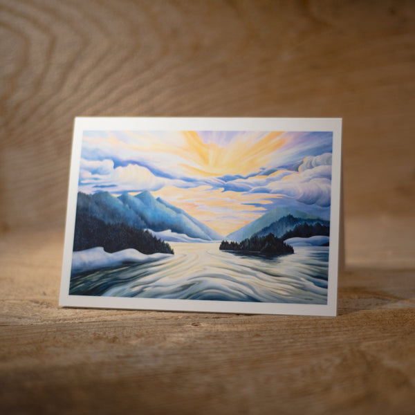 Inside Passage - Art Card