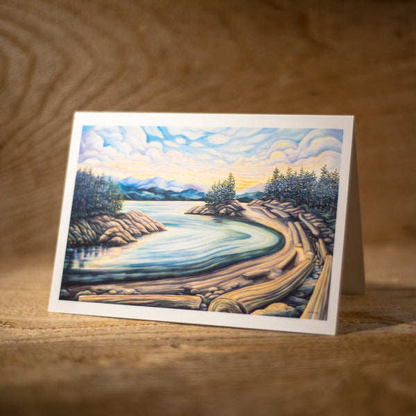 Secret Beach - Art Card