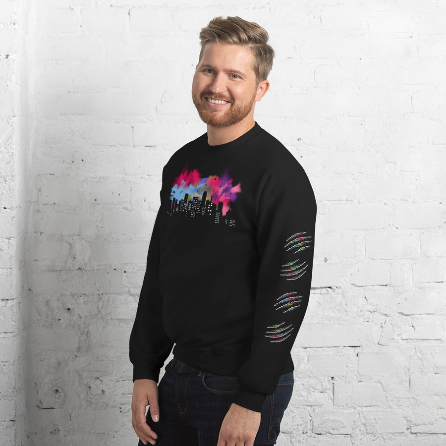 WAHS CITY NIGHT SIGNATURE SWEATSHIRT - Wahs Candle Studio