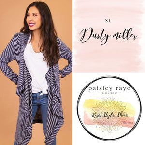 Dusty Miller Cardigan- XL