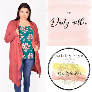 Dusty Miller Cardigan- 0X
