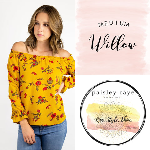 Willow Blouse- Medium