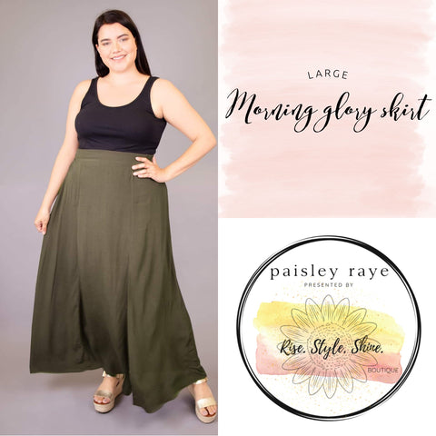 Morning Glory Skirt- Large
