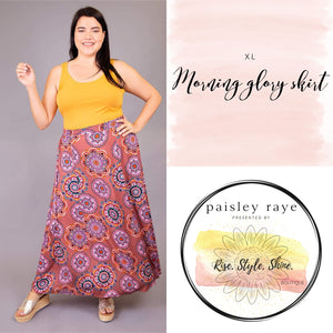 Morning Glory Skirt- XL