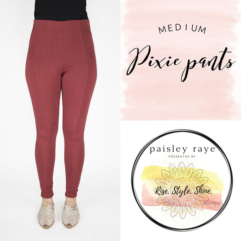 Pixie Pants- Size Medium
