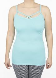 Criss Cross Cami- Size Small