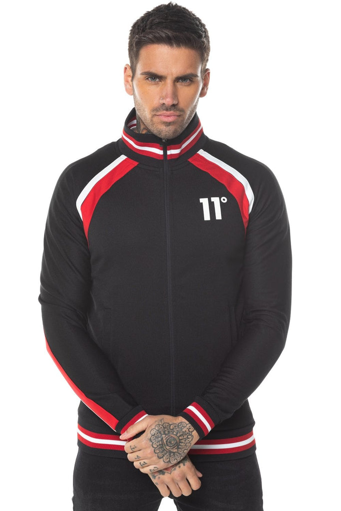 Apollo Poly Track Top - Black
