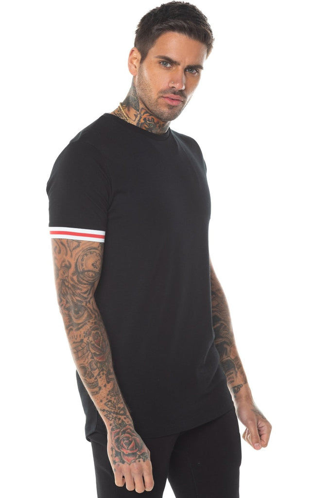 Apollo Black Tee