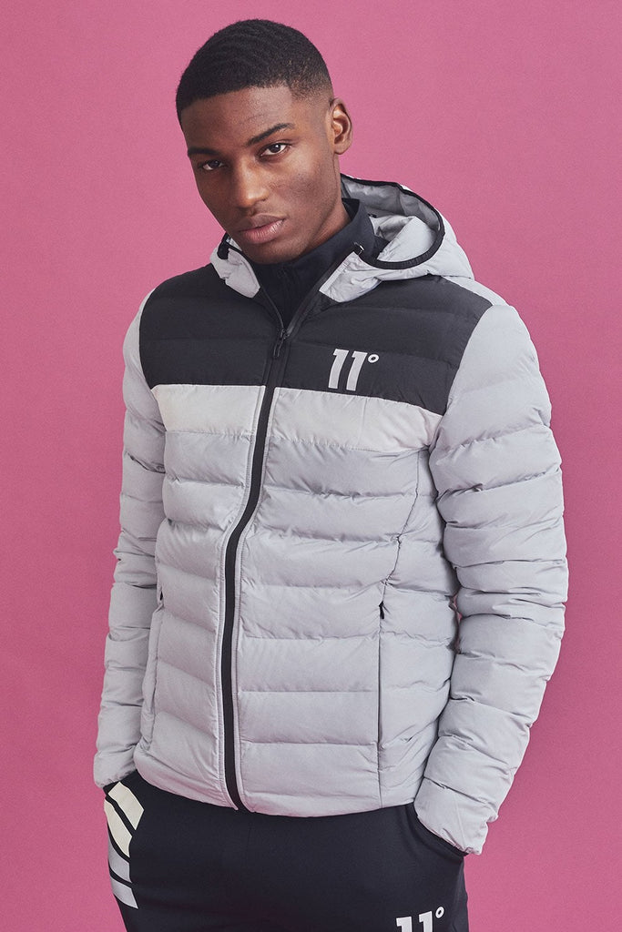 Colour Block Space Vapour Grey/Black/White Jacket