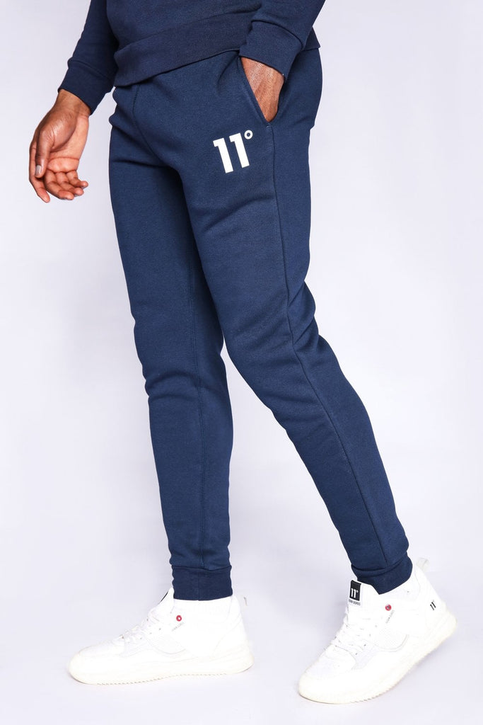 Men's 11 Degrees Core Joggers Regular Fit Navy