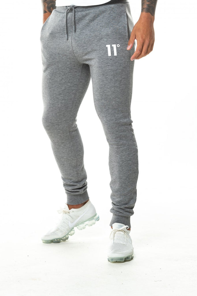 11 Degrees Core Skinny Charcoal Marl Jogger