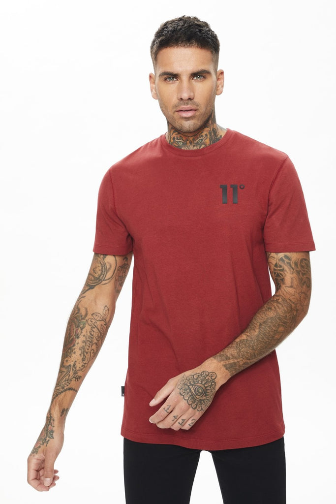 Core Regular Fit Brick Red T-Shirt