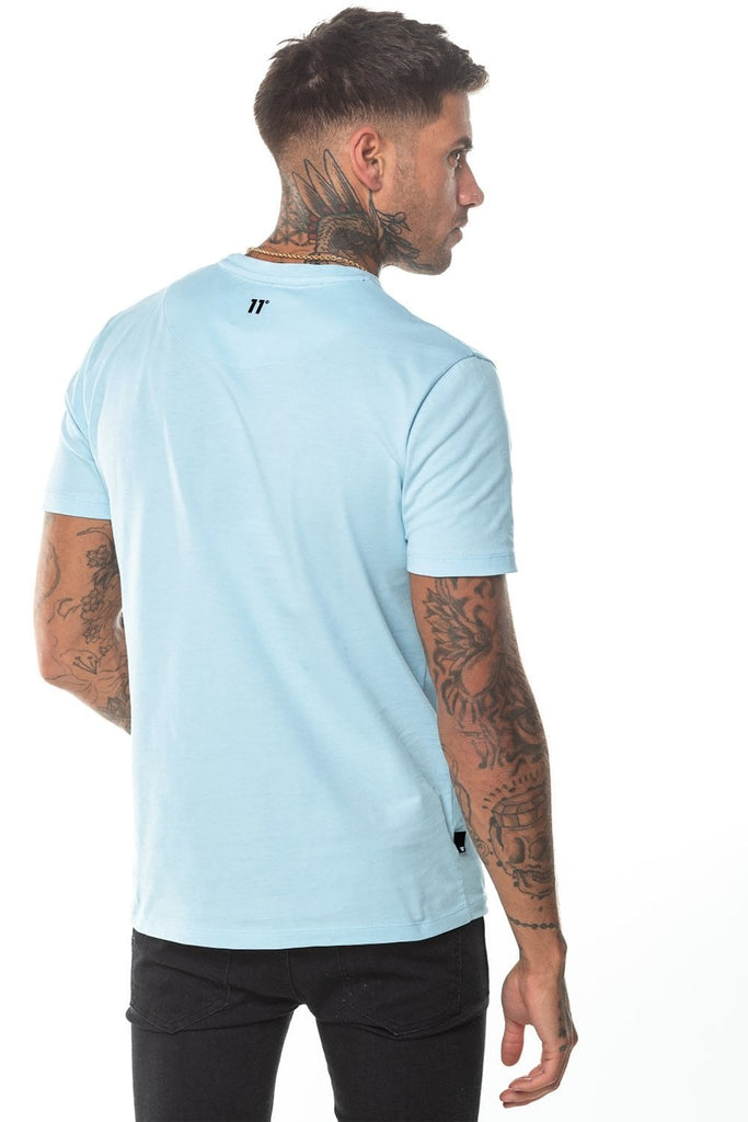 Core Egg Shell Tee by 11 Degrees back