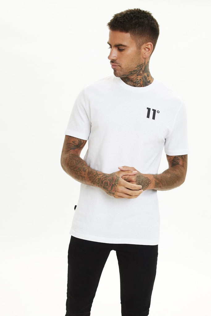 The 11 Degrees Core White Short Sleeve T-Shirt