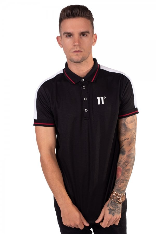 11D-2590 Black Eagle 11 Degrees Short Sleeve Polo