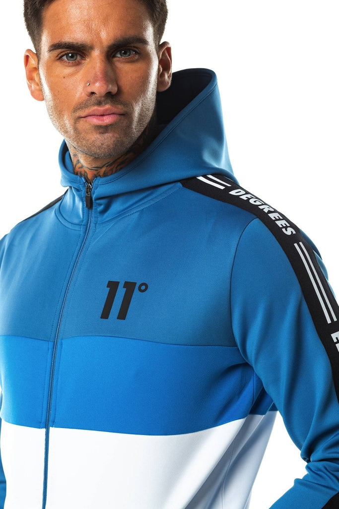 Triple Panel Poly Zip by 11 Degrees logo