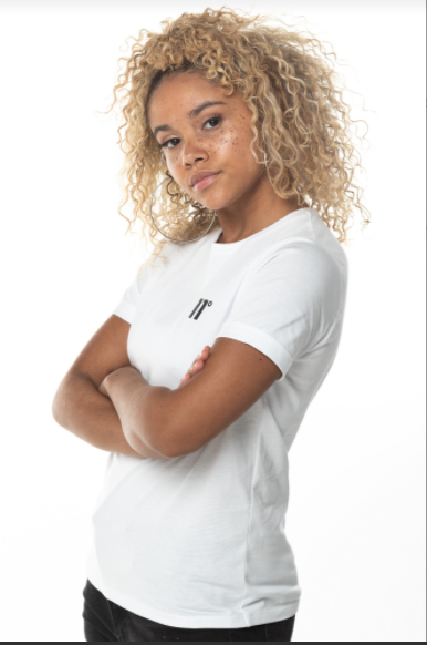 Women's 11 Degrees Short Sleeve White Core T-Shirt