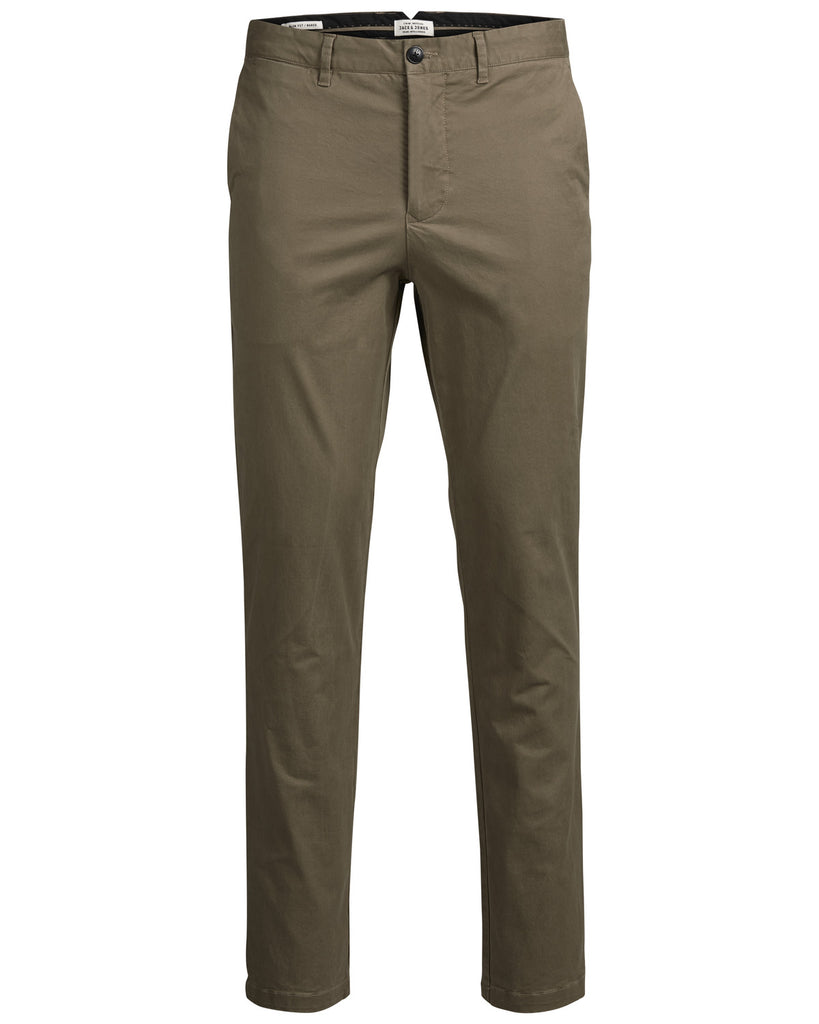 Marco Enzo Tan Slim Fit Boy's Chinos