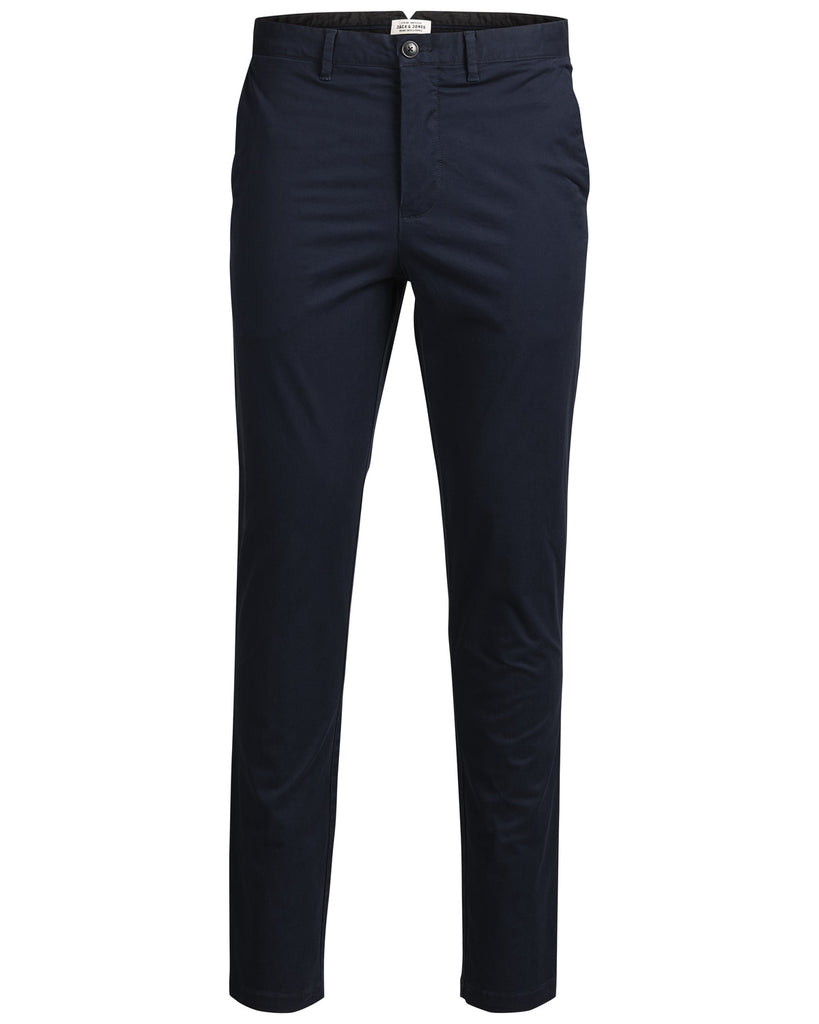 Marco Enzo Navy Slim Fit Boy's Chinos By Jack & Jones