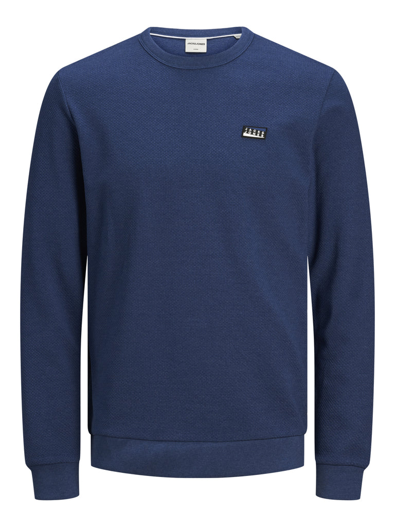 Juan Crew Neck Navy Peony Sweat