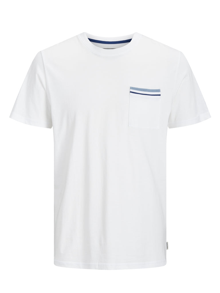 Carlos Short Sleeve White Tee