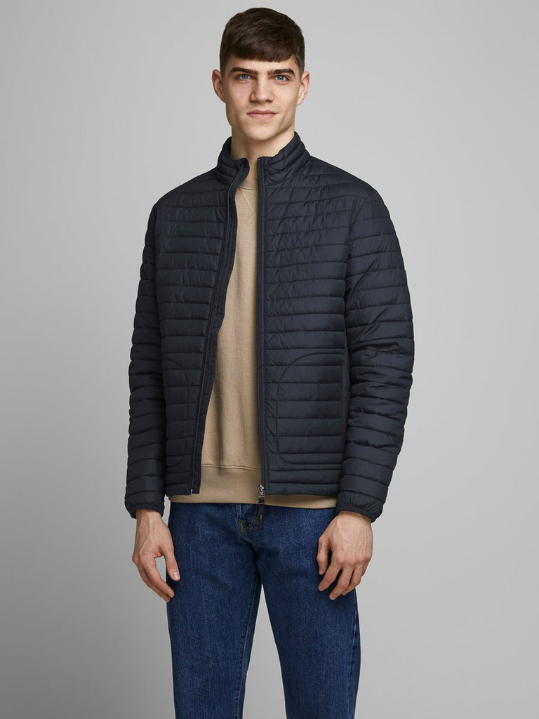 Rick Lightweight Quilted Navy Jacket