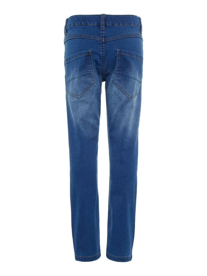 Regular Fit Super Stretch NkmRyan Boys Jean for Ages 5 to 14 Years
