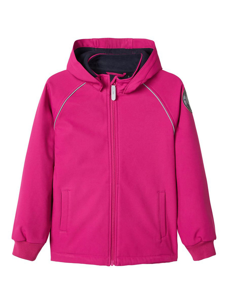 Malta Softshell Kid Girl Pink Jacket