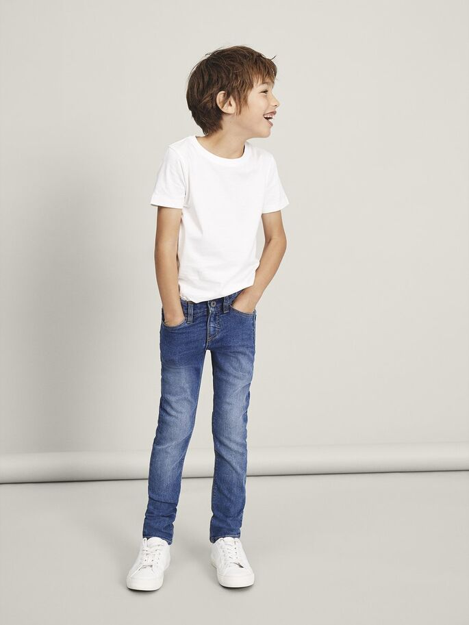 X-slim Fit Theo Tacarl 2302 Boys Jeans Age 5 to 12