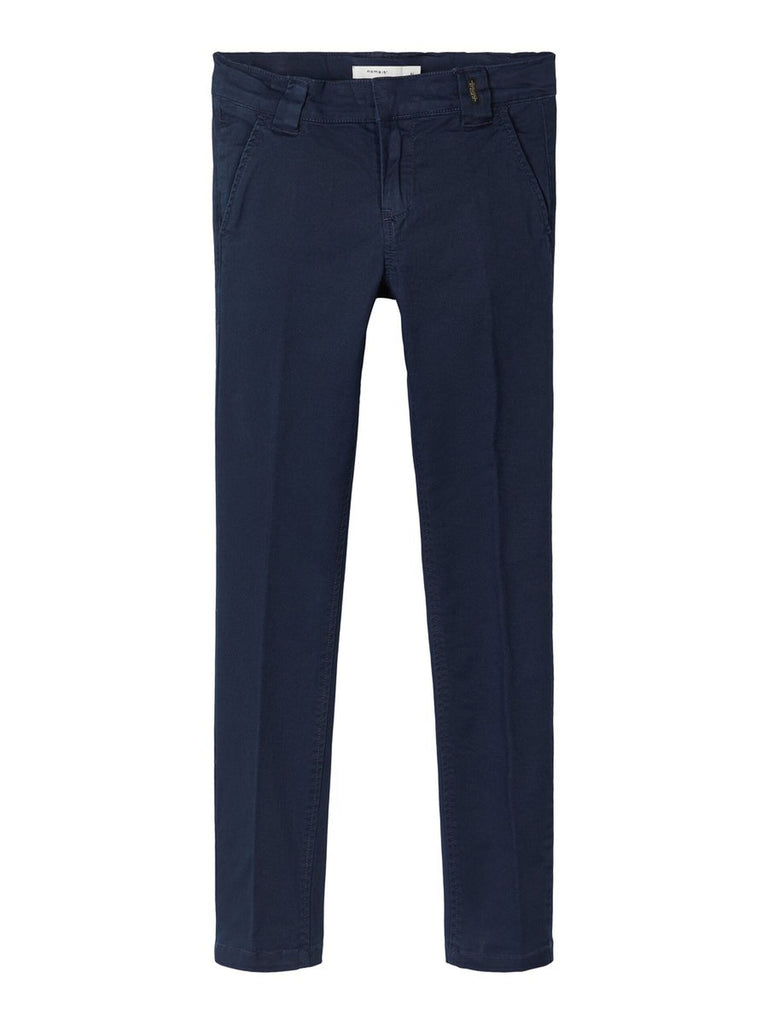 Slim Fit Silas Twiaticka Navy Boys Chinos age 5 to 12 years by Name It