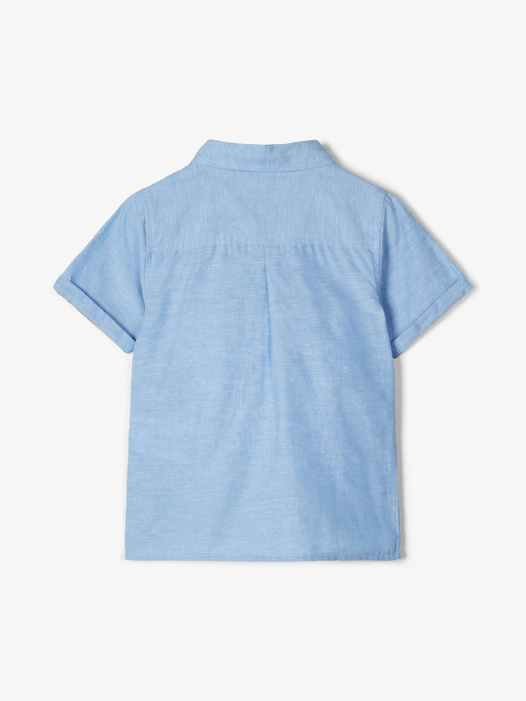 Fugl Short-sleeved Cotton blue Shirt by Name It