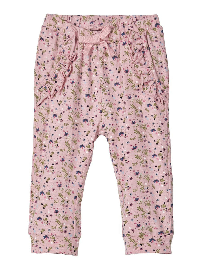 Floral Print Deva Cotton Pants