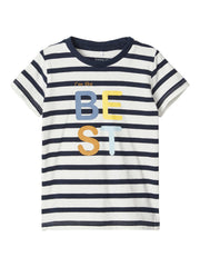 Striped Fefo Tee navy
