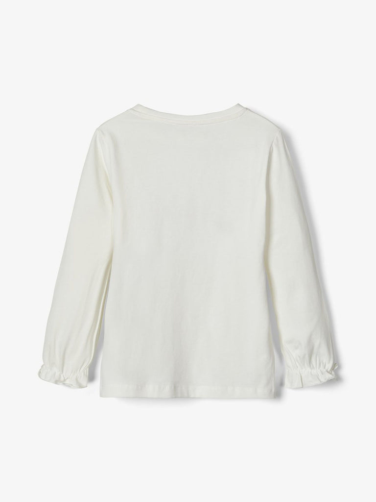 Embroidered Long Sleeved Dagnelle Top White_back