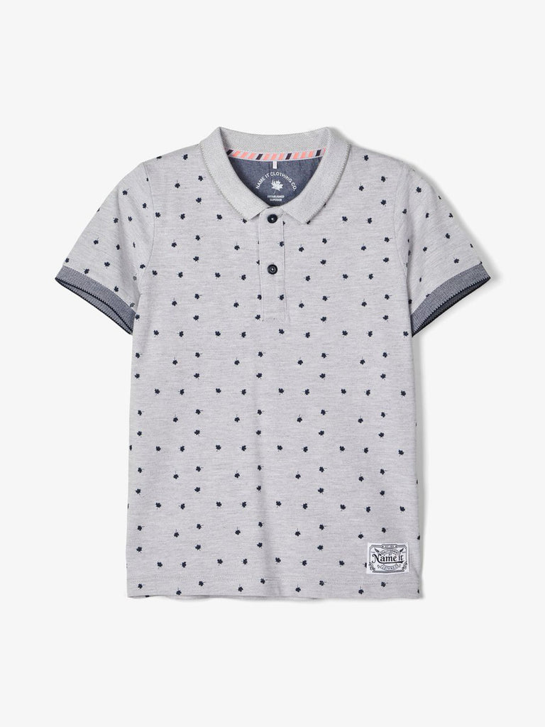 Dsipahi Printed Grey Polo Shirt