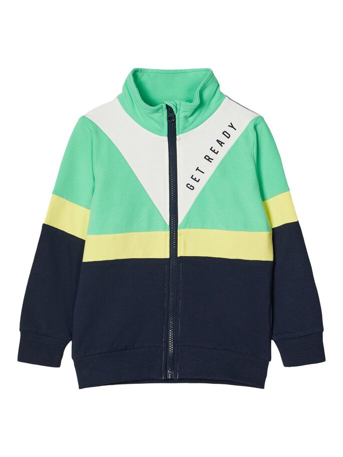 Colour Block Sweatshirt green