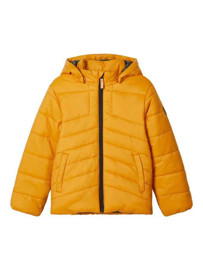 Mabas Quilted Puffer Mustard Kids Jacket