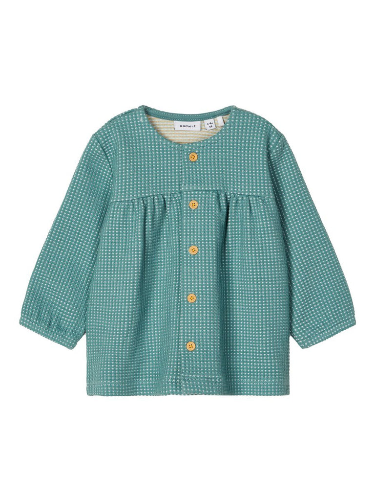 Kalinka Sweat Button Cardigan