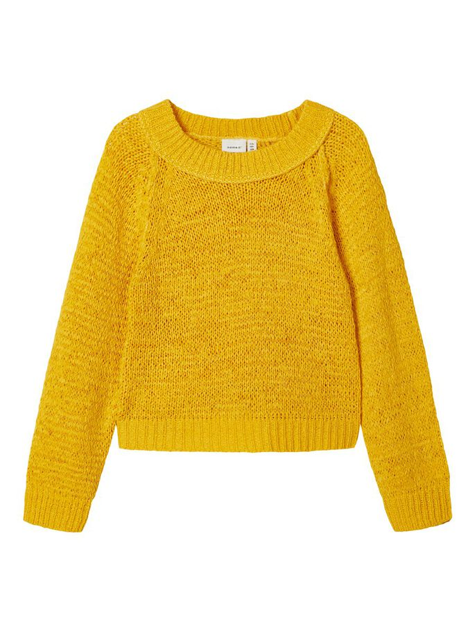 Korry Long Sleeve Mustard Girls Jumper